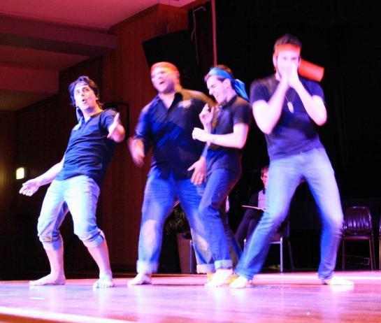 Roo Theatre's winning team, 2011-2012