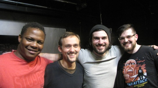 Vu Moyo, Glenn Wanstall, David Rienits (writer) and Adam Armitt in