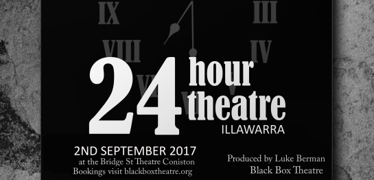 24 Hr Theatre Poster_2017 ILLAW_BANNERA